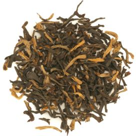 zwarte thee Assam golden tipped halmari
