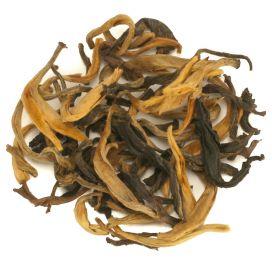 zwarte thee Yunnan Dian Hong golden rain