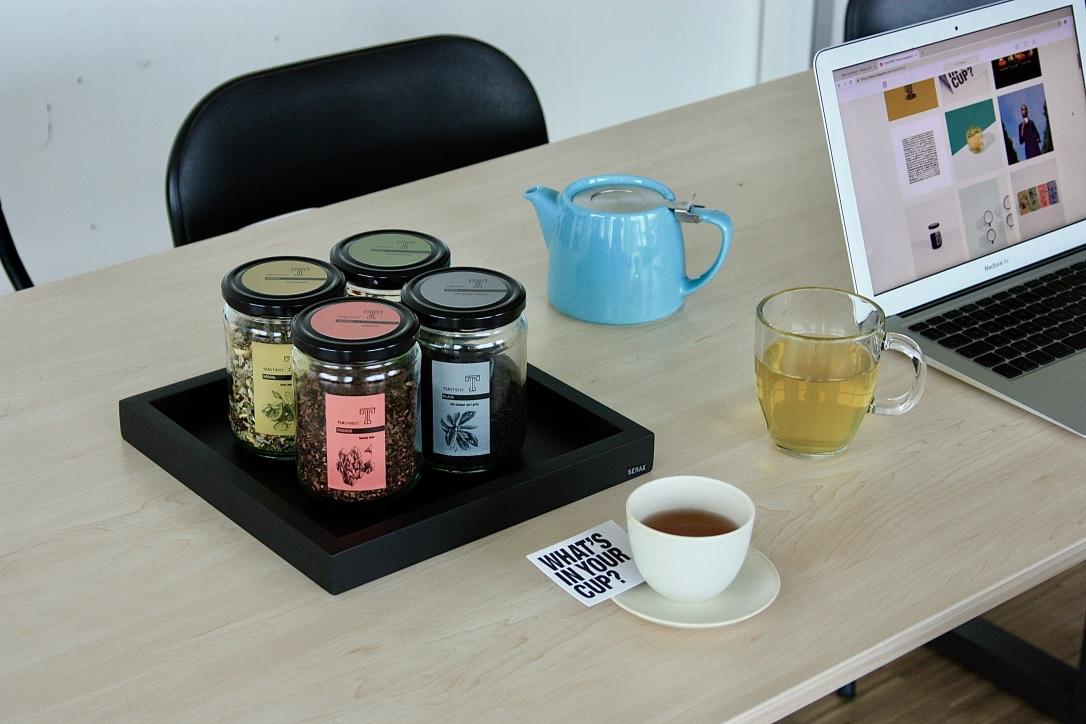 Losse thee op kantoor - Genieten, Gezond en Duurzaam